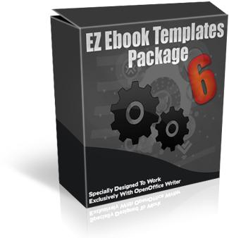 EZebook Master Templates Package 6 with Master Resale Rights