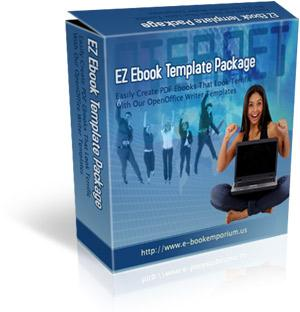 EZebook Master Templates Package 1 with Master Resale Rights