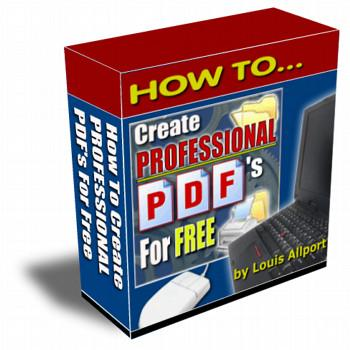 Create PDFs Free - Master Resale Rights